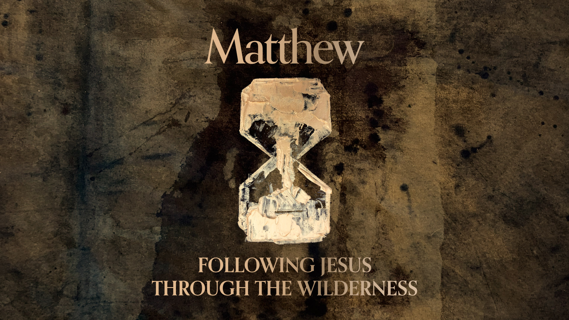Following Jesus Through the Wilderness