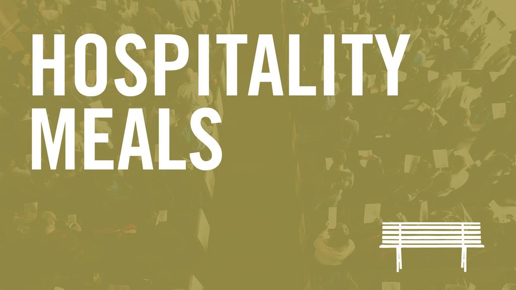 Hospitality Meals